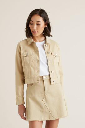 Seed Heritage Cropped Denim Jacket