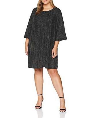 Yumi Women's Glitz Ruched Neck Tunic Dress,(Size: )