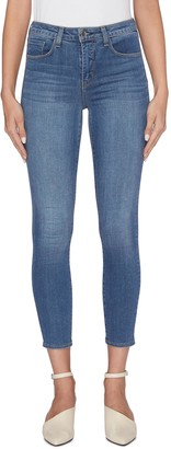 L'Agence 'Margot' cropped skinny jeans