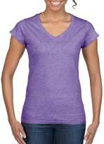 Gildan Ladies Soft Style Short Sleeve V-Neck T-Shirt (M)