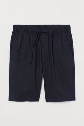H&M Relaxed Fit Shorts - Blue