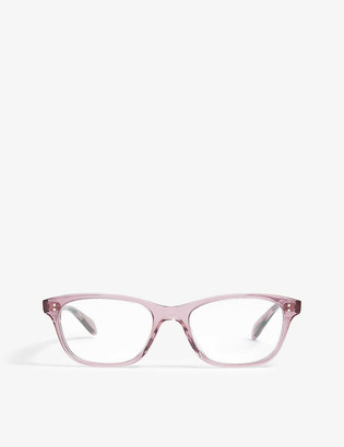 Oliver Peoples Ashton square-frame optical glasses