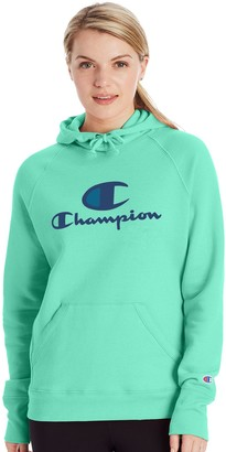 Champion Women's Powerblend Graphic Fleece Hoodie