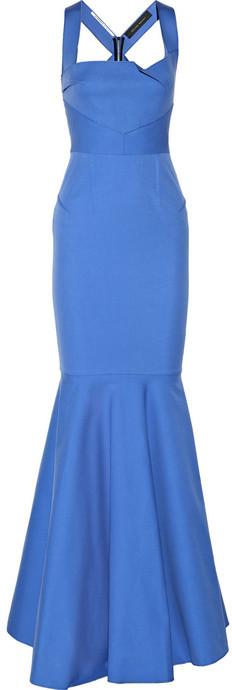 Roland Mouret Lunenberg stretch-cotton gown