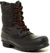 Hunter Short Quilted Lace-Up Boot