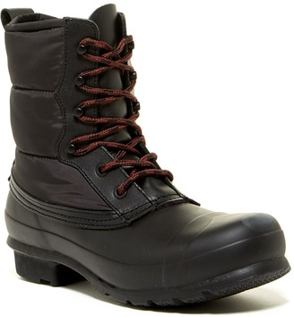 Hunter Original Short Quilted Lace-Up Boot