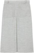Burberry box pleat skirt