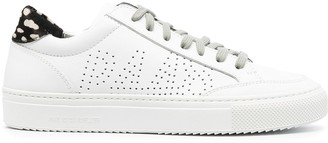 P448 Perforated Textured Panel Sneakers