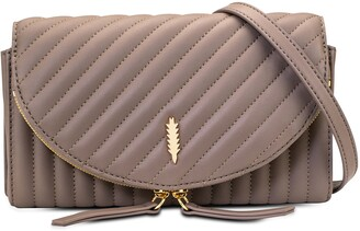 THACKER Nikki Quilted Leather Crossbody Bag