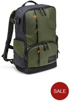 Manfrotto Street Backpack For Personal & Photography Gear With Removeable Camera Compartment - Green/Brown