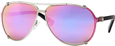 Safilo USA Dior Chicago 2 Aviator Sunglasses