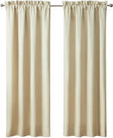 "Waterford Annalise Pole Top Pair 100"" x 84"" Window Drapery Bedding"