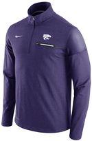 Nike Men's Kansas State Wildcats Elite Coaches Dri-FIT Pullover