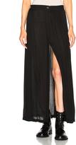 Ann Demeulemeester Slit Maxi Skirt