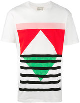 Henrik Vibskov colourful graphic T-shirt - men - Cotton - L