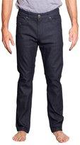 Victorious Men's Slim Fit Unwashed Raw Denim Jeans DL980 - 34/30