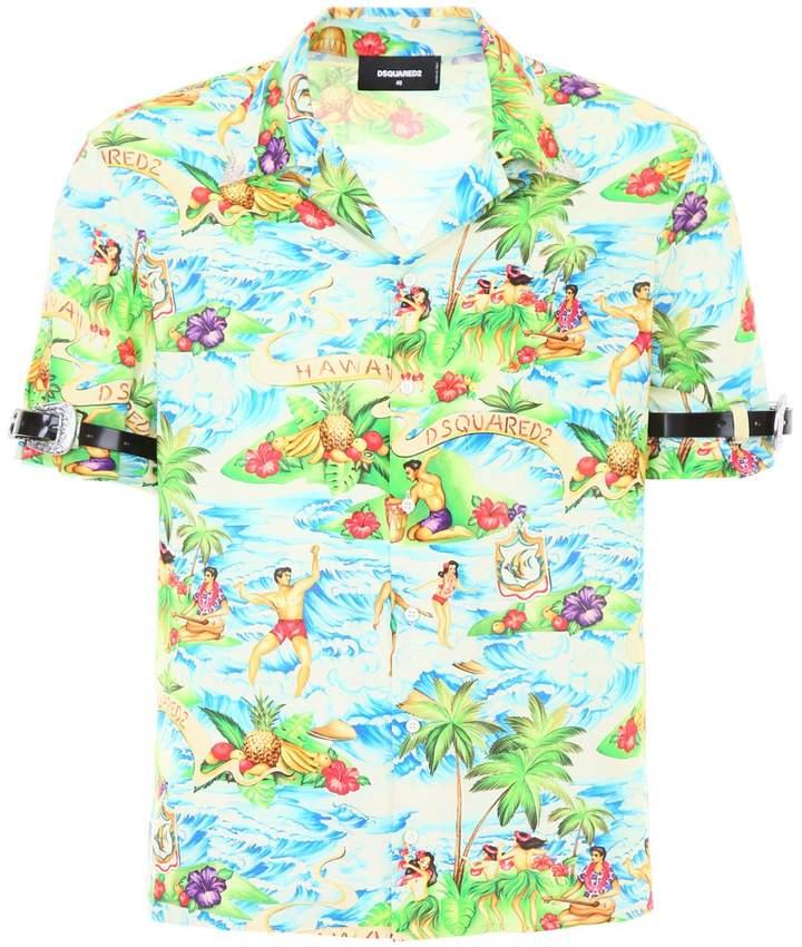 DSQUARED2 Printed Shirt