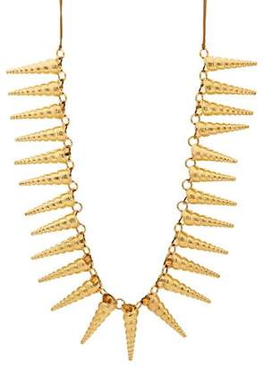 TOHUM DESIGN Women's Cone Shell Necklace - Gold
