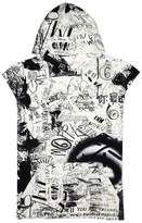 Maison Margiela Graffiti-print Cotton Sweatshirt