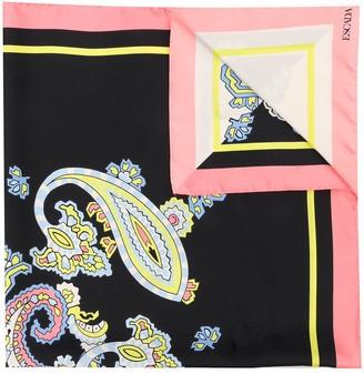 Escada Printed Silk Scarf