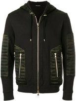 Balmain camouflage zipped jacket