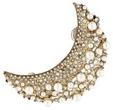 Chanel Faux Pearl & Crystal Earring