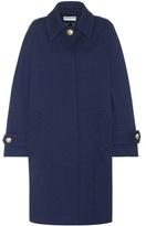 Balenciaga Classic Cocoon oversized wool coat