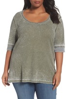 Sejour Thermal Knit Tee (Plus Size)