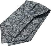 Panegy Men's Stylish Jacquard Polyester Elegant Cravat Ascot Handkerchief Neckties