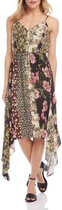 Karen Kane Mixed Print Cami Dress