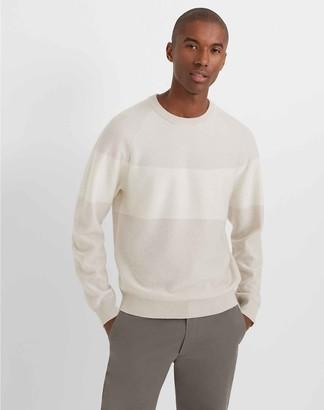 Club Monaco Cashmere Stripe Crew Sweater