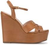Schutz platform wedge sandals