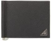 Prada Leather Bifold Card Holder
