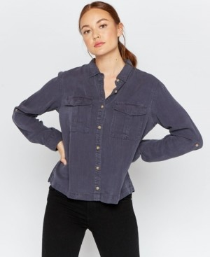 Thread and Supply Thread Supply Double Chest Pocket Button Down