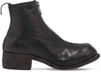 Guidi 1896 PL1 ZIP-UP FULL GRAIN LEATHER BOOTS