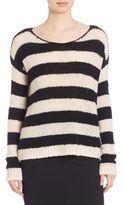 ATM Anthony Thomas Melillo Striped Knit Sweater
