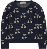 Bonpoint Cherry cotton and lurex sweater
