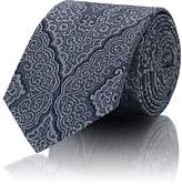 Barneys New York Men's Baroque-Pattern Silk Jacquard Necktie