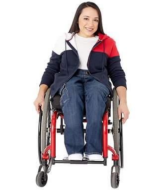Tommy Hilfiger Adaptive Hoodie Sweatshirt with Magnetic Zipper Closure