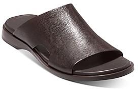 Cole Haan Men's Goldwyn 2.0 Leather Slide Sandals