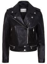Sandro Vega Leather Biker Jacket