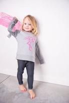 Grey Flamingo Sweater