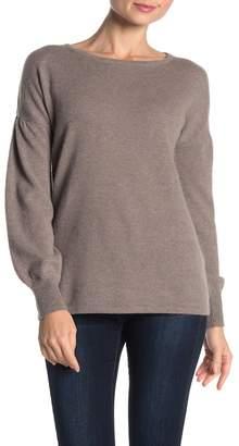 Sofia Cashmere Solid Cashmere Pullover Sweater