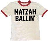 Rowdy Sprout Boy's Matzah Ballin Ringer Tee