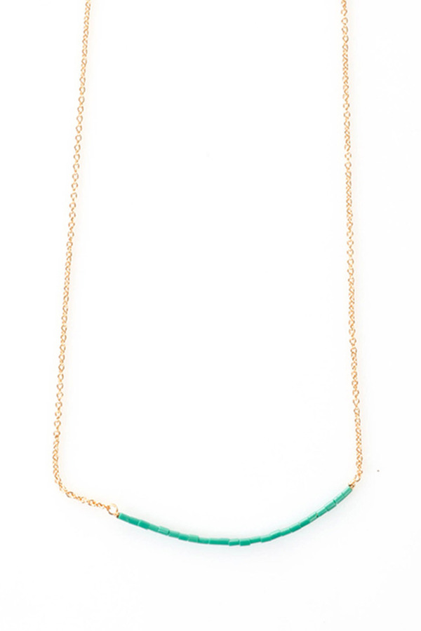 Tassia Canellis Fine Pearled Necklace