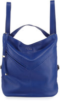 Furla Holly Leather Backpack, Blue Laguna