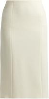 The Row Herin wool-blend midi skirt