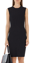Marc Cain Pinstripe Dress, Black/White