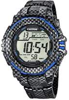 Calypso Men's Digital Watch with LCD Dial Digital Display and Multicolour Plastic Strap K5681/5