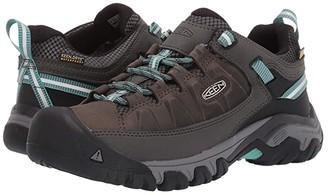 Keen Targhee III Waterproof (Alcatraz/Blue Turquoise) Women's Shoes